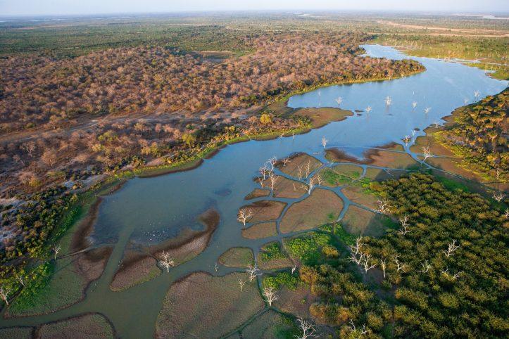 Rufiji River, Selous Game Reserve, Tanzania © Michael Poliza / WWF
